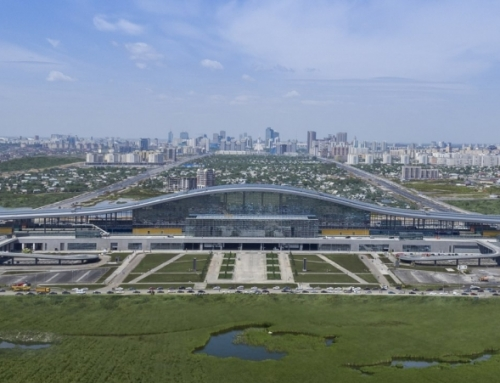 Astana Tren İstasyonu Nurly Zhol